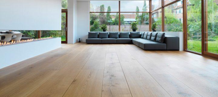 Péče o dřevěnou podlahu